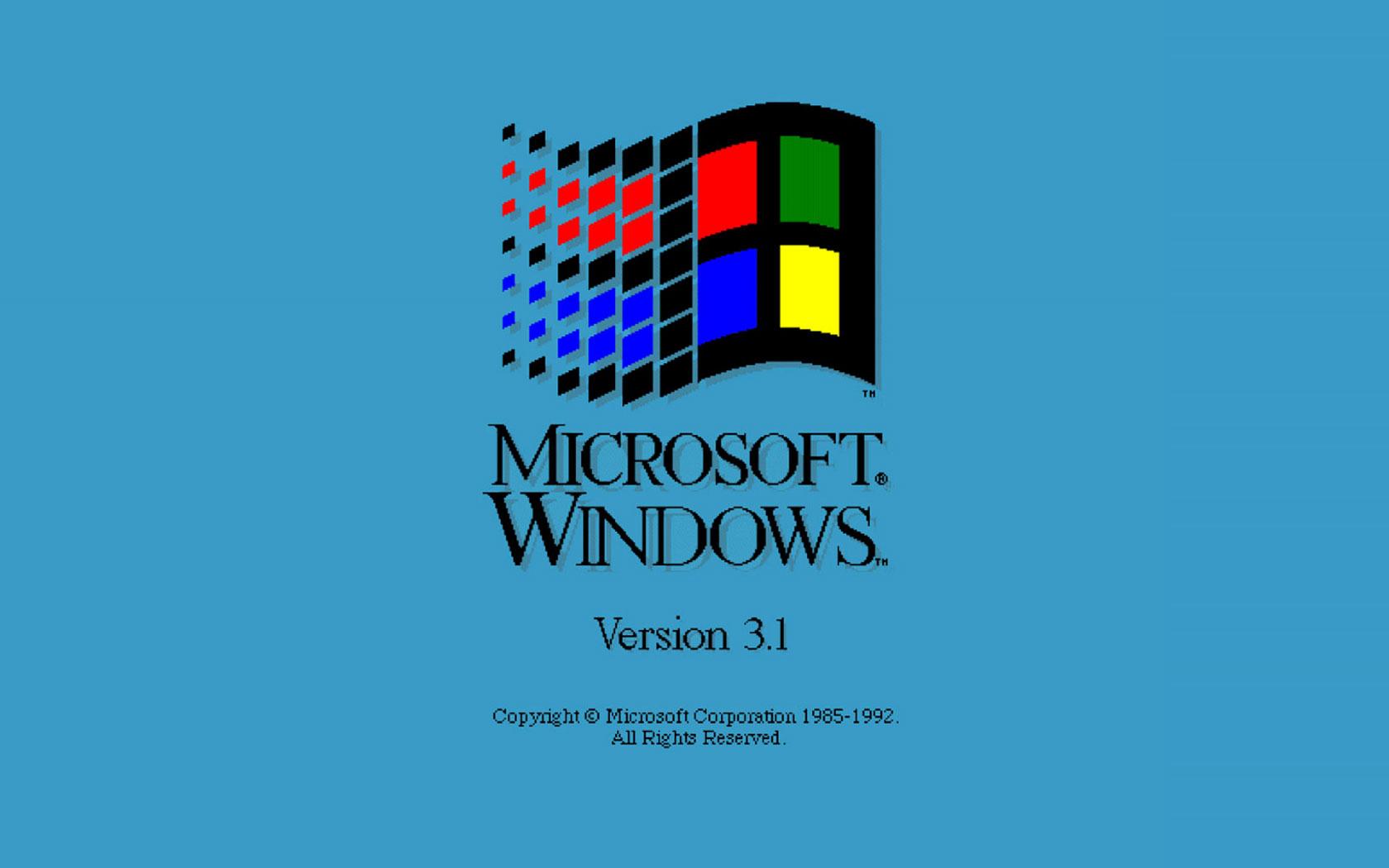 Windows 3.1微软官方原版
